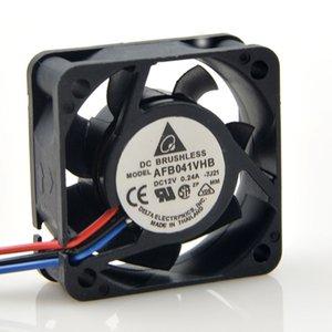 DELTA ل4CM AFB0412VHB AR50 12V 0.24A 4015 40 * 40 * خفض 15mm مزدوج واضعا الكرة المحورية مروحة التبريد
