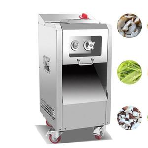 Venta al por mayor nueva máquina de cortar carne eficiente eléctrico vertical máquina de cortar carne comercial 2200W máquina de cortar de acero inoxidable para la venta