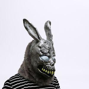 Animal dos desenhos animados máscara Coelho Donnie Darko FRANK a festa de Halloween Coelho Cosplay Maks Suprimentos SH190922