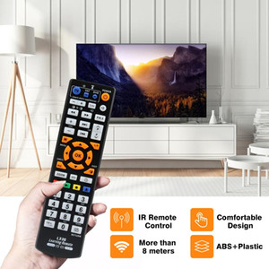 Universal Smart Remote Control Controller IR Remote Control With Learning Function Remote for TV CBL DVD SAT For L336