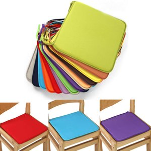1pc Chair Seat Pad Indoor Outdoor Dining Garden Patio Cushion Office Home Decor Soft Kitchen Square Coccyx Orthopedic Bottom New