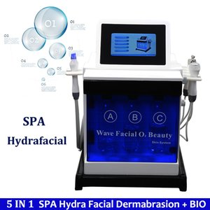 2021 Hydrafracial Crystal Microdermabrasion Machine Hydra Peel Vial Dermabrasion Hydro Water Dermabrasion Acne Spot Trattamento Skin Rinnovamento