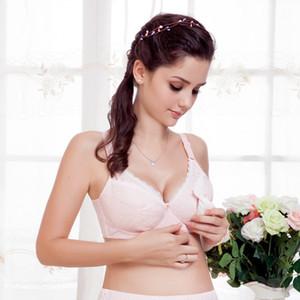 Hot 2019 Cozy cotone donne prima aperto Fibbia Feeding Nursing Maternity Bra al seno reggiseno 1 1
