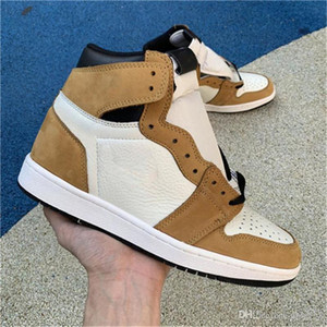2018 Authentic 1 High OG Rookie of the Year 1S Basketball Shoes For Men Sports Sneakers With Original Box 555088-700