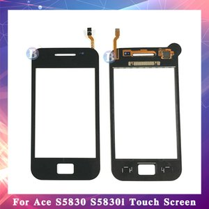 """10 шт. / лот высокое качество 3.5 """" для Samsung Galaxy Ace S5830 S5830I GT-S5830 сенсорный экран Digitizer датчик наружное стекло объектива панель"""