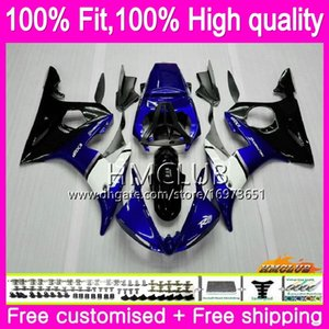 OEM Injection For YAMAHA YZF R6 S YZF600 CC YZFR6S YZF-600 Body Blue black 82HM.2 YZF R6S YZF-R6S 06 07 08 09 2006 2007 2008 2009 Fairing