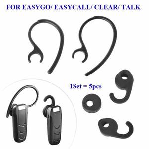 Pour Jabra Easygo Easycall Clear Talk Oreillette de remplacement oreillette Bluetooth oreillette Eargels Silicone embout auriculaire gels 5pcs / lot haute qualité