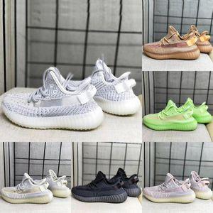 ssYEzZYYEzZYs v2 350impulso Diseñador arcilla V2 zapatos corrientes de Kanye West niños Synth Lundmark hiperespacio verdadera Forma instructor zapatilla de deporte