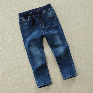 New best-selling children's wear a hair substitute children's pants boy's jeans pants casual elastic spring and autumn big children's pant