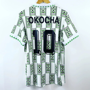 Retro Nigeria 1994 Home Away Maillots de football Kanu Okocha Findi Futbol Kit football vintage classique Camiseta T-shirt