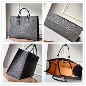 LOU1S VU1TTON M44912 ONTHEGO Genuine leather women twist handbag messenger shoulder bag pockets Totes Shopping bags Backpack Key Wallets