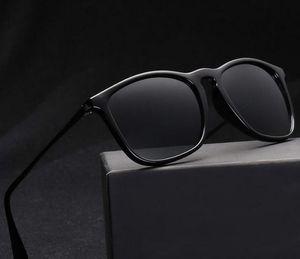 Мода Классические солнцезащитные очки Мужчины Женщины Марка Дизайнер Крис Баны очки для дам Лучи Tortoise Sun Glasses со случаями