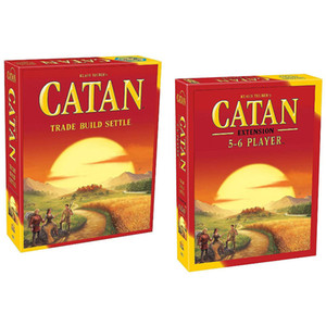 Carte di Catan gioco commerciale Costruire Settlet The Settlers Seafarers per 5-6 giocatori Top Seller nave libera