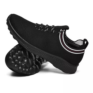 with free socks NEW Designer white black blue men special section sports sneaker increased Breathable Jogging running shoes EUR 36-44