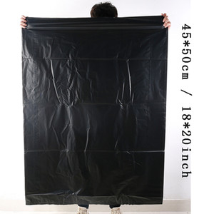 100pcs / lot à usage unique sac poubelle Thicken Sacs à ordures sac noir déchets 45 * 50cm Eco-friendly Sac Durable Trash LeakProof Sacs à ordures BC BH3462