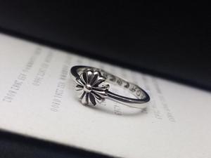marque de mode avec des anneaux de concepteur LOGO croix de crâne pour dame design hommes et femmes Party cadeau Lovers mariage de luxe Hip hop Bijoux