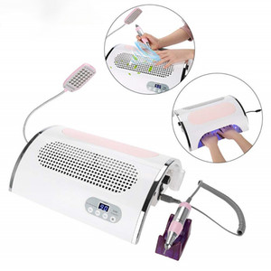 4 IN 1 Многофункциональный электрический ногтей сверлильный станок, 54W UV LED для ногтей Сушилка лампы для ногтей Гель польского искусства инструменты для акриловых ногтей гель