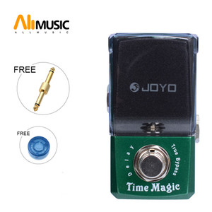 New Joyo JF-304 Time Magic Delay Effect Pedal New Ironman Mini Series Guitar Pedal with gold connector And MOOER knob
