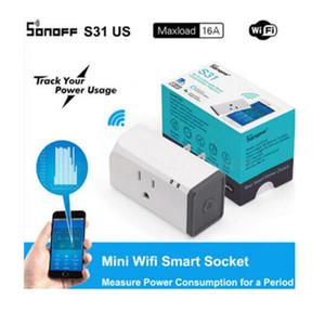 Sonoff S31 US Mini Smart Wifi Socket اللاسلكية الذكية التبديل المكونات التطبيق التحكم في أي مكان يعمل مع اليكسا جوجل الرئيسية