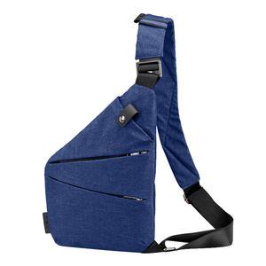 Mulher Homens sacos de moda Sling Casual Theft Canvas Peito Anti Crossbody bolso mujer sacoche homme torebka damska Shopper