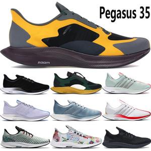 Zoom Pegasus 35 hommes turbo femmes chaussures de course baskets triple noir volt GOLD punch gris DART rn hommes mouche humides