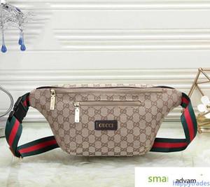 الخصر حقائب اليد النسائية رجل Fannypack مصمم الصدر للجنسين فاخر الحزام بيع # 0504