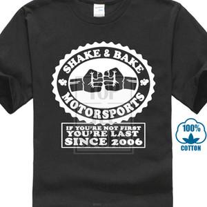 Nuevo verano Personalidad Shake And Bake Motorsports - Step Brothers - Camiseta de algodón para hombre