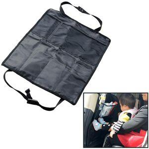 Adeeing Universal Car Anti-dirty Pad Selbstsitzrückenprotektor Anti Kick-Mat Abdeckung Pad Anti Kick-Mat PVC Für Auto r30