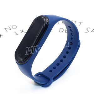 Hot Selling M4 Fitness Smart Bracelet Anti-lost Pedometer smartwatch Heart Rate Blood Pressure Moniter colorful Bracelet PK ID115 M2 M3