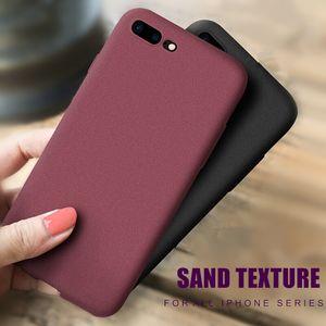 Рок песок матовый матовый мягкий чехол для телефона TPU для Huawei P30 P40 Mate 20 30 Pro Y9 Prime Nova7 LG K30 40 50