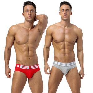 2020 New Men's Cotton Sexy Front Convex Men's Briefs Comfortable Breathable Cotton Underwear Men Male Underwear