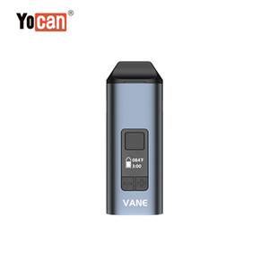 New Dry Herb Vaporizer Authentic Yocan Vane vape Stift Kräuter 1100mAh Keramik Heizung Kammer mit OLED-Display-Bildschirm