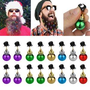 Barba Navidad que cuelgan adornos de Santa Claus decoración de Santa Claus barba clip divertido de la fiesta de la decoración de Navidad linda