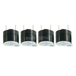 5PCS NOUVEAU 5V active Alarme Buzzer Beeper 9 * 5,5mm 5 V Mini active Piezo Buzzer Fit Pour arduino Diy buzzers électroniques 0905