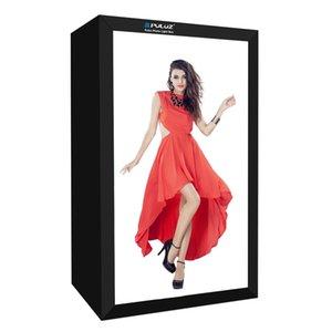 PULUZ 200cm Studio Box 6 Light Strip Bars 240W 5500K White Light Photo Lighting Shooting Tent Kit for Clothes   Adult Model Portrait
