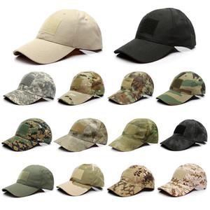 New Adjustable Camo Camouflage-Baseballmütze Männer im Freienjagd-Camouflage Jungle Hat Tactical Wandern Casquette Hats
