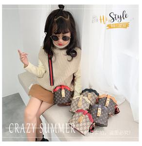 Gucci 2020 كلاسيك للأطفال مصمم أزياء شىء صغير براق طباعة حقائب اطفال بنات النزهة الكتف حقائب طفل طالب البسيطة الأميرة اطفال المساء