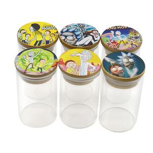 Neueste Glass Reserve Vorratsflasche leer Atomizer Wax Jar Bottom Behälter mit Atomizer 6 Stil Karton Bilder 67 * 87mm