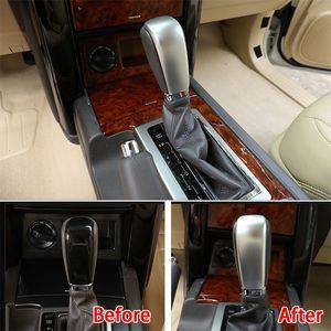 Araba Merkezi vites topuzu golf sopası kılıfı Trim Krom Toyota Land Cruiser Prado FJ 150 2010 2011 2012 2013 2014 2015 2016 1 adet