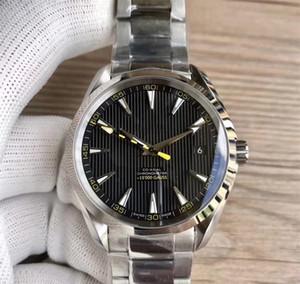 2019 Luxusuhren Edelstahlarmband Aqua Terra 150m Master 41.5mm Edelstahl 23110422101004 41.5mm MAN WATCH Armbanduhr
