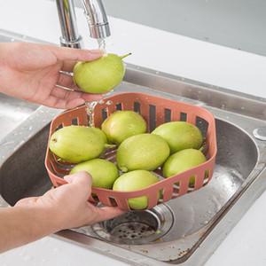 Round Shape Sink Drain Basket Storage Shelf Drain Rack Multifunctional Vegetable Fruit Storage Holder Kitchen Strainer