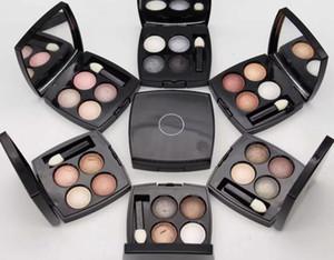 MAIS NOVO maquiagem profissional 4 cores multi efeito quadra paleta da Sombra de Olho 1 pçs / lote Frete Grátis