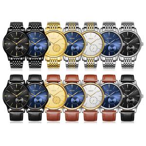 2020 luxo Aesop Assista Men Relógio Mecânico Automático cristal de safira fina de pulso Relógio de pulso minimalista Masculino Relógio Homens Relogio Masculino