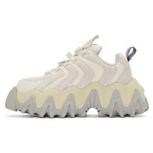 2019 diseño Negro zapatos casuales más nuevos Eytys Ángel zapatillas de deporte de cuero genuino de zapatos con los zapatos de la caja de Papá Color Matching Zapatos