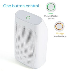 Electric Mini Dehumidifier, Compact and Portable for High Humidity in Home, Kitchen, Bathroom, Office, RV, Garage with Auto Shut Off