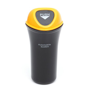 VORCOOL Taşınabilir Mini Otomobil Dustbin Araba Çöp Araba Organizatör Sızdırmazlık Araç Can Bin Çöp Trash Can