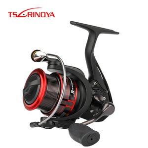 portları Eğlence TSURINOYA İplik Balıkçılık Reel ST 2000 2500 8 + 1 Shllow biriktirme Pike Bass Fish Döküm 7kg Drag Güç Ultralight Uzun ...