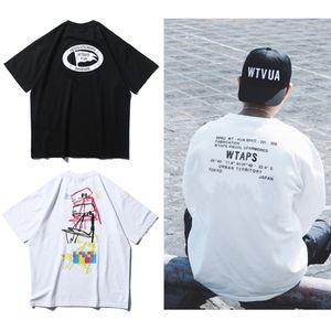 Не Wtaps Warfare футболка Graphic Tee Мужчины Женщины Лето SPEC тенниска одежды Harajuku Уличная тенниска Крупногабаритные Hip Hop Gym Топ T200605