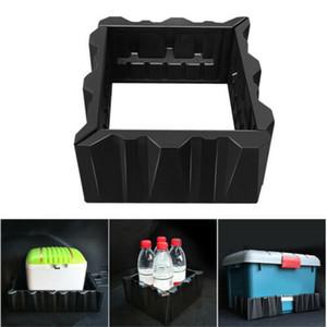 Tronco traseiro do carro fixo partição de armazenamento Kit Organizer Armazenamento traseira Towing Tidying Bloco de bagagem carga antiderrapante Organizador Estiva