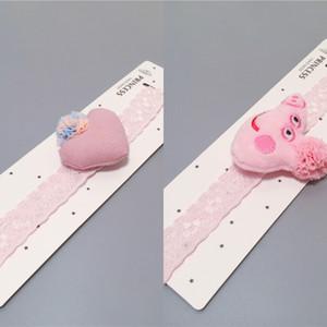 Coreano innovativa testa dei bambini neonato stelle merletto del bambino di luna baby doll fascia elastica dei capelli fascia per capelli Doll fascia